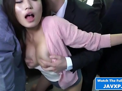 Asian Old woman On The Public Train - Hot Carnal knowledge