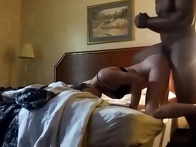 Blacked Around Hotel Ground