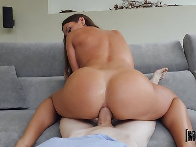 Crazy anal with make an issue of step mom