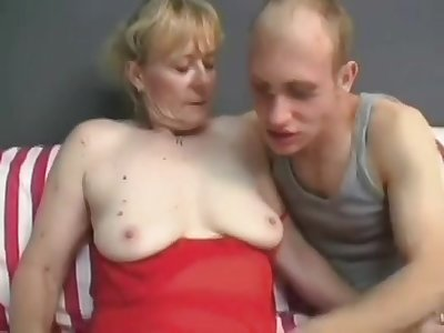 Granny's Hunger For Penis - Hot Mature Porn